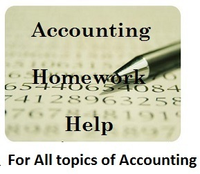 Accounting Coursework Help