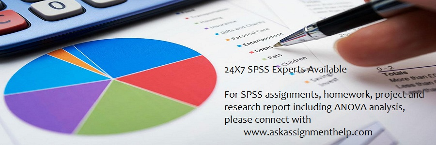 create spss research project using anova