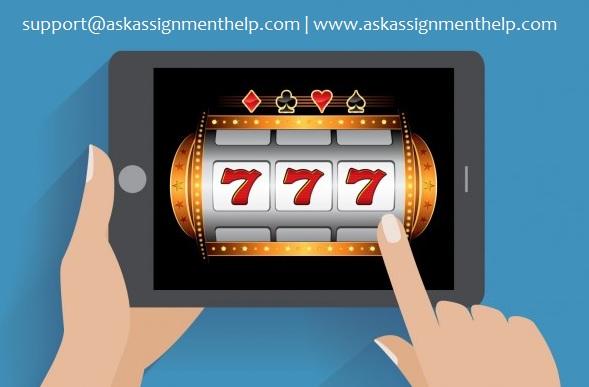 java slot machine application