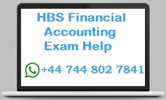 hbs financial accounting exam help