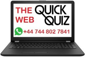 web quick quizzes